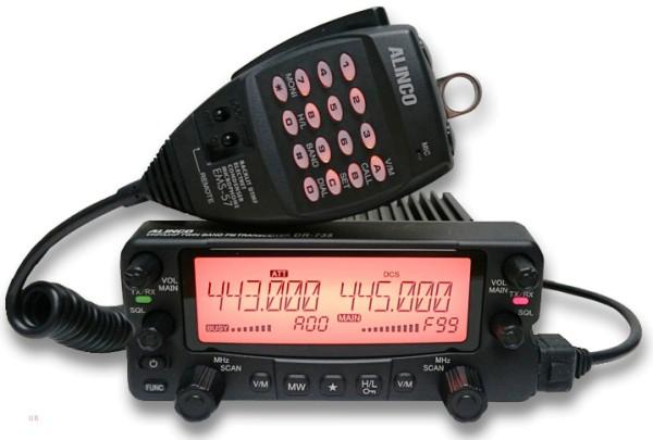 Alinco DR-735E 2m/70cm Dualband Amateurfunkgerät mit 50 Watt Sendeleistung