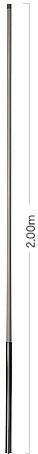 Diamond SE-50 Marineantenne 2m/70cm Dualband 2 Meter Länge