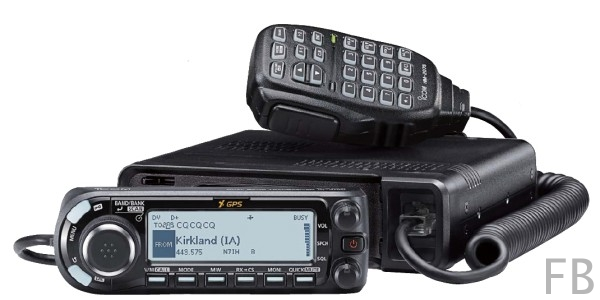 Icom ID-4100E D-Star 2m/70cm Band Amateurfunkgerät GPS und Bluetooth Option