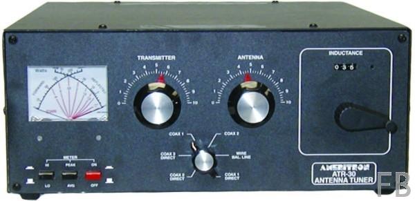 Ameritron ATR-30 1500 Watt Tuner mit Rollspule 1,8 bis 30 MHz