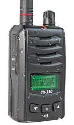 TTI TX-130U PMR446 Handfunkgerät nach IP55 staub- und wasserdicht