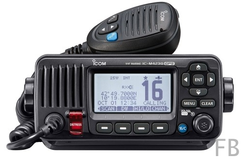 Icom IC-M423G UKW Seefunkgerät mit eingebautem GPS-Empfänger