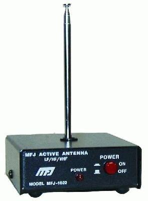 MFJ-1022 Aktivantenne für 300 kHz bis 200 MHz für Innenbetrieb