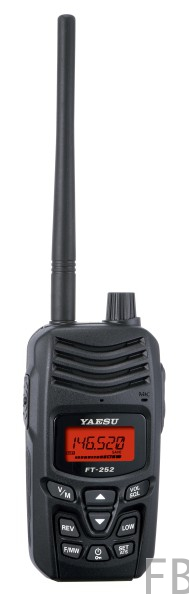 Yaesu FT-252E VHF Handfunkgerät 2m Band