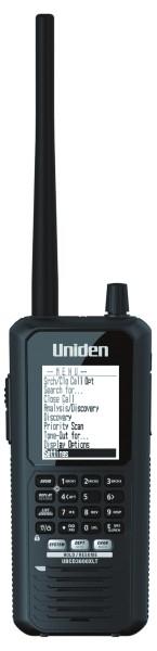 Uniden Bearcat UBCD3600XLT Handscanner