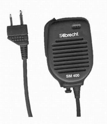 Albrecht SM 400 Lautsprechermikrofon für Handfunkgeräte, Standardnorm