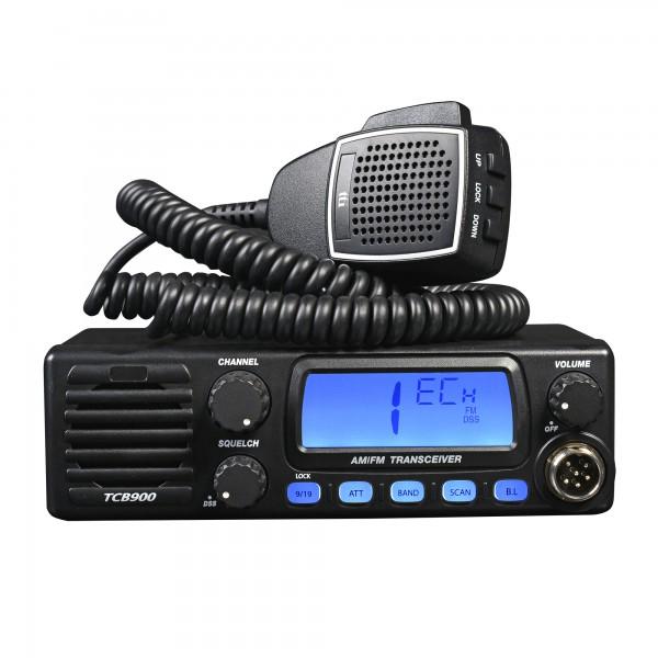TTI TCB-900 CB Mobilfunkgerät mit Multinorm und 12/24 Volt Technik