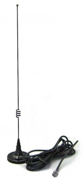 Comet M-24B Magnetfußantenne Dualband für 2m/70cm inkl. Kabel und BNC Stecker