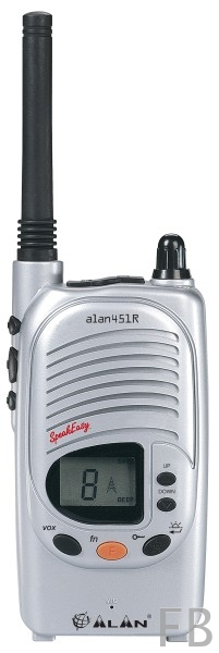 Alan 451 PMR446 Handfunkgerät
