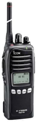 Icom IC-F3062S FuG11B BOS Handfunkgerät