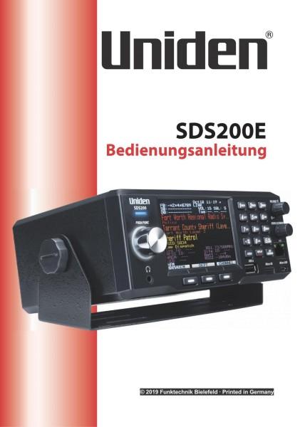 Uniden Bearcat SDS200E Deutsche Bedienungsanleitung
