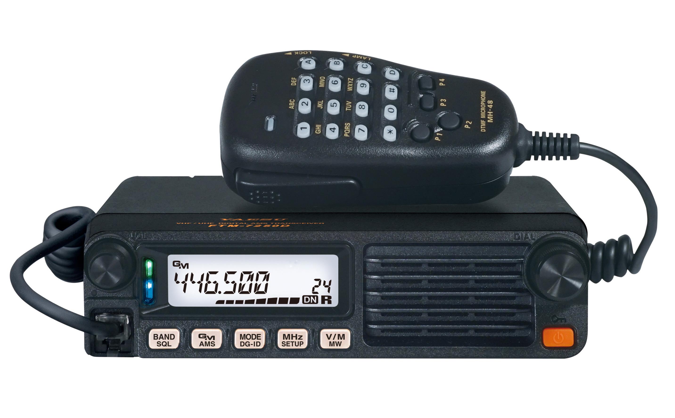 Yaesu Ftm 7250de Funktechnik Bielefeld Professionelles Equipment Ic 484 Am Radio Receiver Fr Gehobene Ansprche
