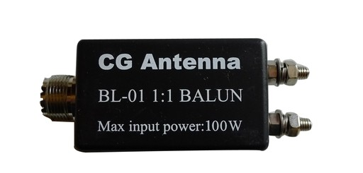 CG BL01 QRP Balun 1:1 100 Watt SSB/CW