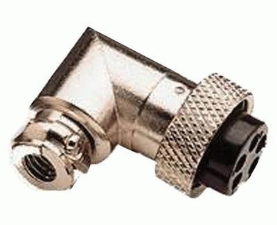 Mikrofonstecker 4-polig abgewinkelt