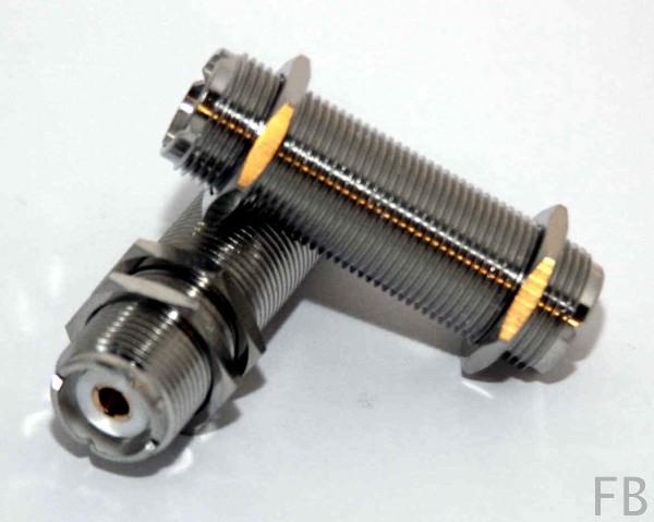 UHF Verbinder PL-Kupplung Lange Ausführung
