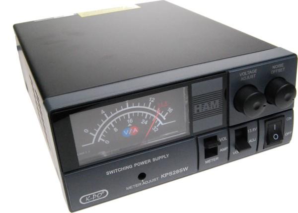 KPS-28SW Schaltnetzteil 28Ampere Schaltnetzteil 9-15 Volt und analogem Instrument Volt/Ampere