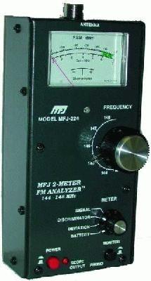 MFJ-224 2m FM Signal Analyzer