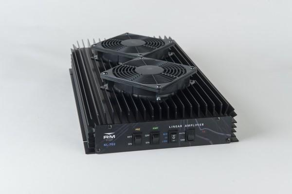 RM Italy KL-703 25-30 MHz 500 Watt Linear Ampiflier mit Lüfter