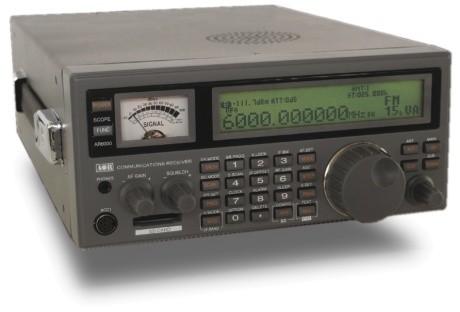 AOR AR-6000 Breitbandempfänger von 9 kHz bis 6 GHz