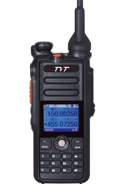 TYT MD-2017 VHF/UHF DMR Handfunkgerät mit GPS + USB Programmierkabel