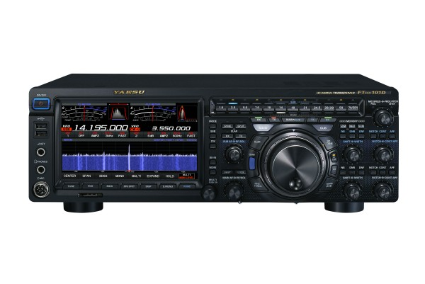 Yaesu FT-DX101D SDR High-Class HF+ 50 MHz + 70 MHz 100W Transceiver