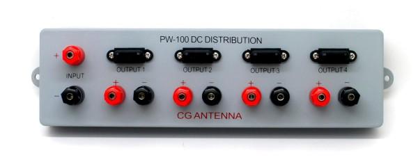 CG PW-100 4fach DC-Stromverteiler