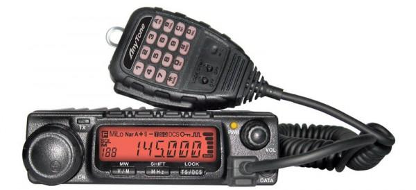 AnyTone AT 588 VHF FM 2m Band Mobilfunkgerät max 60W TX Power