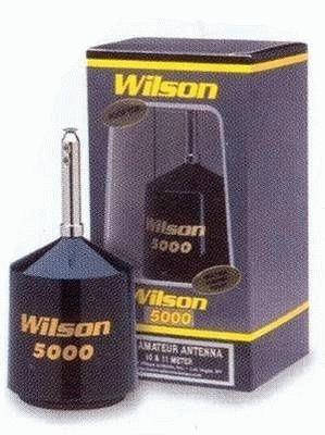 WILSON 5000 F CB-Mobilantenne komplett mit Einbaufuß und 6m Kabel mit PL-Stecker