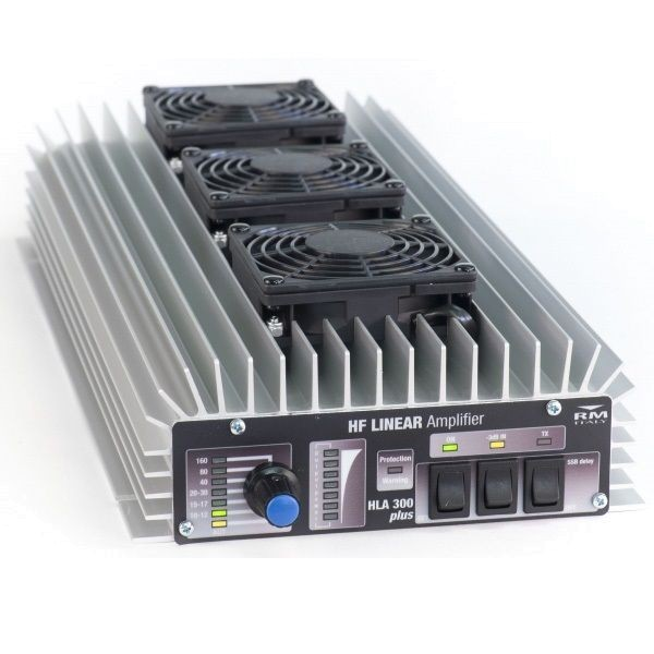 RM Italy HLA-300V Plus HF Endstufe 300W mit Ventilator für 1,5-30 MHz