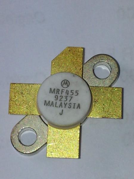 Motorola MRF 455 Transistor NPN, 12 Volt, 60 Watt, Casing SOT-123