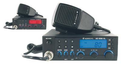 Albrecht AE 5090 XL modernes Multikanal Norm CB Funkgerät mit Up/Down Tasten