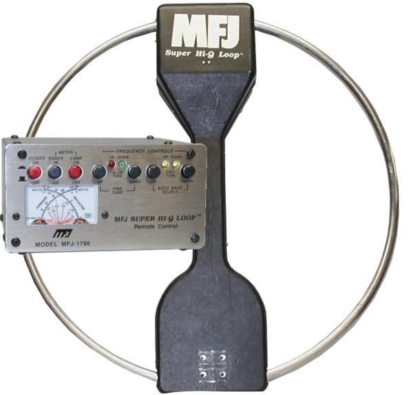 MFJ-1788X Magnetische Loop Antenne 7-21 MHz mit Steuergerät