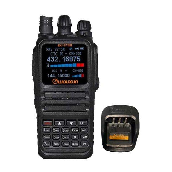 Wouxun KG-UV8H Dualband VHF/UHF IP66 10Watt + 3200mAh
