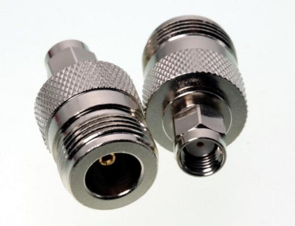 Adapter SMA-Reverse Stecker auf N-Buchse