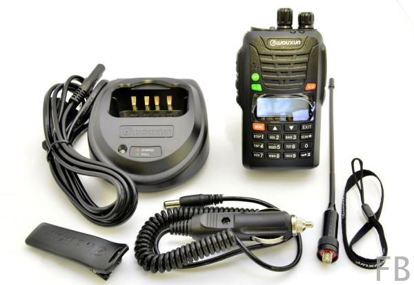 Wouxun KG-UV6D-E Dual 2m/70cm Handfunkgerät