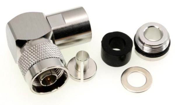 N-Norm Winkelstecker für 7 mm Koaxkabel