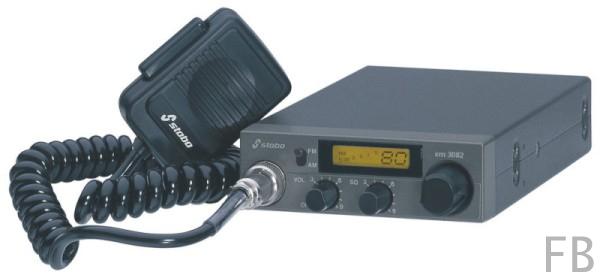 Stabo XM 3082 80 Kanal AM/FM 4 Watt