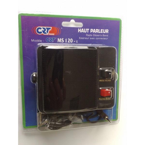 CRT MS 120E / KLS-120 Zusatzlautsprecher für Funkgeräte und Empfänger